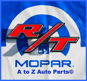 New 2011 2014 Dodge Charger Grille Rt Emblem r t Nameplate Oem Mopar