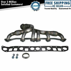 For Jeep Grand Cherokee Wrangler 4 0l V6 Exhaust Manifold Stainless Steel New