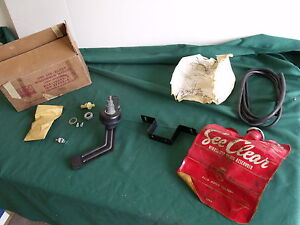 Nos 1955 1956 Ford Windshield Washer Kit Fomoco 56