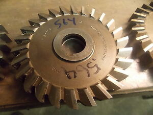 5 0 Diameter Hss 564 Slitting Side Milling Cutter