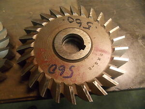 5 0 Diameter Hss 560 Slitting Side Milling Cutter
