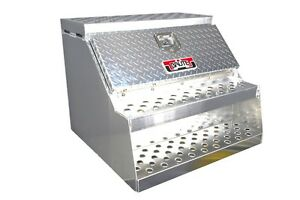 30 brute semi Truck Tractor Step Box With Tool Box