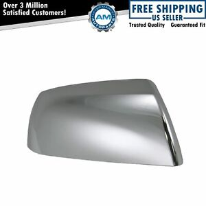 Chrome Side View Mirror Cap Passenger Side Right Rh For Sequoia Tundra Truck