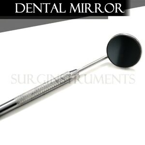 50 Front Surface Dental Mirrors 5 Complete With Handle Surgical Instruments