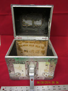 Vintage A J Reusable Cargo Storage Small Shipping Container Used 9