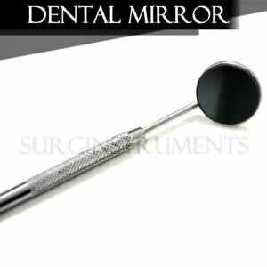100 Front Surface Dental Mirrors 5 Complete With Handle Surgical Instruments