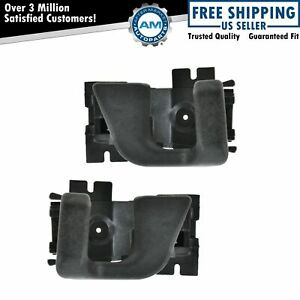 Interior Inside Door Handle Pair Set Rear For Ford Bronco Ii Ranger Pickup Truck