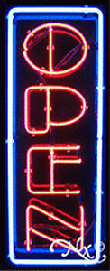 New open 32x13x3 Vertical Border Real Neon Sign W custom Options 10319