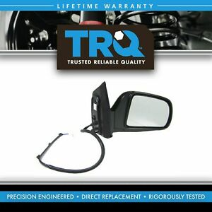 Power Side View Mirror Black Passenger Right Rh New For 98 03 Toyota Sienna