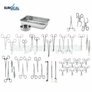 Deluxe Veterinary Dissection Kit Surgical Instruments High Grade Stainless Steel