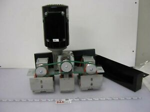 Bosch Rexroth 3842999751 00012 Tandem Lift transfer Unit W motor Belts Rollers