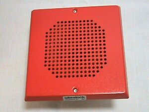 Wheelock Red Chime Ch70 24 r 20 31vdc 0 020a 707825