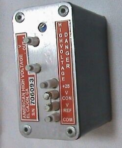American High Voltage Power Supply Dc Converter 535fr002