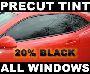 Ford Focus Wagon 00 07 Precut Window Tint Black 20 Vlt Film
