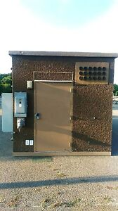 Concrete Communication Shelter Cabins Hunting Storage Bldg 10 x20