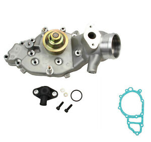 Laso Engine Cooling Water Pump W Metal Impeller Gasket New For Porsche 944