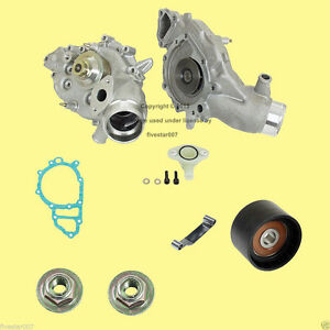 Laso Engine Cooling Motor Water Pump W Modification Kit New For Porsche 924 944