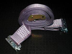 6 16 E Track Straps Cam Buckle Tie Down Strap Enclosed Trailer Cargo Van Strap