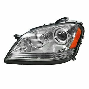 Headlight Headlamp Driver Side Left Lh New For Mercedes Benz Ml Class