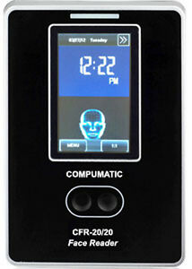 Compumatic Cfr 20 20 3d Face Reader Time Clock With Computime Employee Software