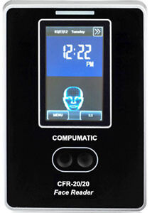 Compumatic Cfr 20 20 V2 Touchless Biometric Face Recognition Time Clock W Wifi