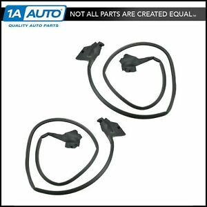 Door Seal Weatherstrip Pair Set Of 2 For Buick Chevy Gmc Olds Pontiac 2
