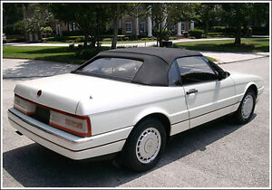 New Cadillac Allante Convertible Soft Top Haartz Vinyl 1987 1993