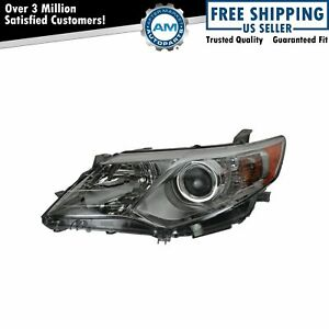 Headlight Headlamp Driver Side Left Lh For 12 13 Toyota Camry Le Xle