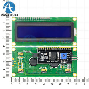 Iic i2c twi sp i Serial Interface1602 16x2 Character Lcd Module Display Blue