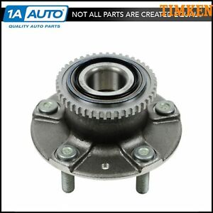 Timken Wheel Bearing Hub Assembly Rear For 98 02 Mazda 626 Abs New
