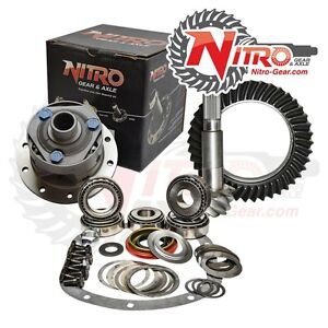 Dana 44 4 27 Ring Pinion Nitro Gear Torsen Lsd Posi Master Install Kit Jeep Cj5