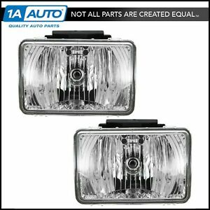 Fog Driving Lights Lamps Left Right Pair Set For Colorado Canyon Pickup Truck
