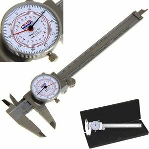 Dial Caliper 6 150mm Dual Reading Scale Metric Sae Standard Inch Mm