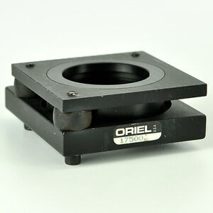 Oriel 17500 Adjustable 2 Optical Mirror Lens Mount