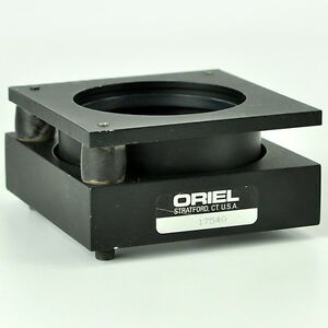 Oriel 17540 Optical Adjustable Mirror Lens Mount