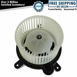 Heater Blower Motor W Fan Cage For Jeep Cherokee Wrangler