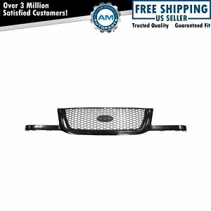 Grille Grill Argent Honeycomb Mesh Black Surround Front For 01 03 Ford Ranger