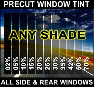 Nano Carbon Window Film Any Tint Shade Precut All Sides Rears For Jeep Glass