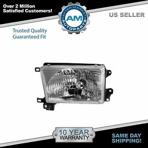 Headlight Headlamp Driver Side Left Lh New For 99 02 Toyota 4runner