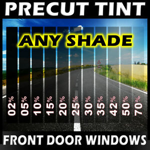 Nano Carbon Window Film Any Tint Shade Precut Front Doors For Toyota Truck Glass