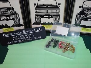Inverted Double Flare Sae Brake Fittings Assortment For Standard 3 16 Brake Line