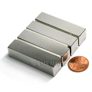 Neodymium Magnets N42 1 2x1 2x2 Ndfeb Rare Earth Magnets End Poles Lot 24