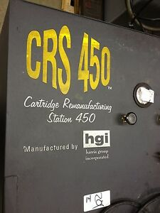 Hgi Harris Dust Collector Printer Ink Cartridge Remanufacturing Station Crs 450