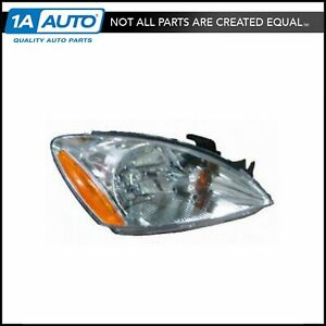 Headlight Headlamp W Clear Lens Passenger Side Right Rh New For 04 07 Lancer