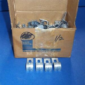 Egs Electrical 1 2 Steel Emt Clamps Twcl50 lot Of 100 pzf