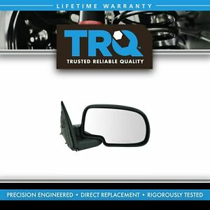 Manual Mirror Right Passenger For Sierra Yukon Silverado Suburban Pickup Truck