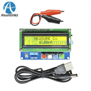 Digital Lc100 a Lcd High Precision Inductance Capacitance L c Meter Tester