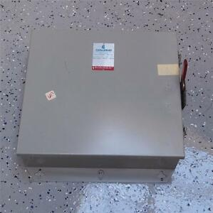 Challenger 600ac 250dc 30a Enclosed Disconnect Switch Rhd661nf