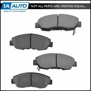 Nakamoto Front Semi Metallic Disc Brake Pad Set For Honda Civic Accord Acura