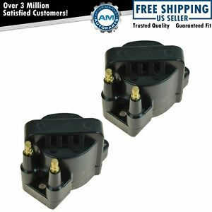Ignition Spark Coil Set Of 2 Kit For Chevy Gmc Buick Pontiac L4 2 0 2 2 2 5